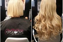 Hair Extension Salon / Here you can see some really great hair extensions salons and the beautiful transformations they produce