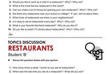 RESTAURANT/FOOD...
