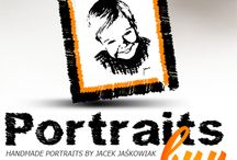 PortaitsBuy / Professional handmade portraits, dry brush drawing, pencil drawing, custom portraits from photo