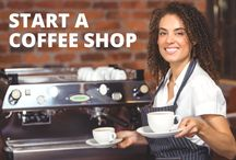 Start a Coffee Shop / Coffee shops are a really popular business; over 50 thousand in the U.S. alone. As with any business, having a good business plan is key, and when it comes to coffee shops in particular it's important to think about sourcing products, finding a great location, creating the right atmosphere, and more.