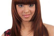 Synthetic Medium Length Wigs