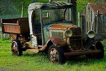 Old Farm Trucks