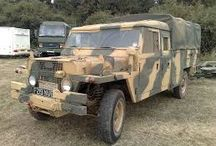 The military car's