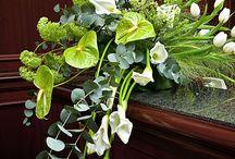 aranžování květiny