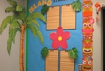 beach themed classroom