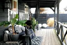 Tuin veranda