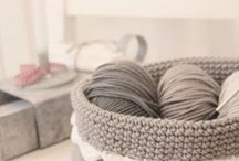 Crochet ~ Baskets