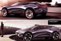 Car render style