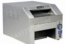 Konveyörlü Ekmek Kızartma Makinası