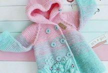 Детская одежда. Вязание.