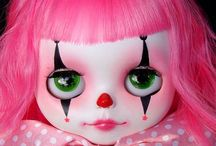 Blythe Doll & Monster High Doll