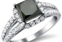 It's a Nice Day for a Black Diamond Wedding / Shop these and many more beautiful black diamond rings in our online fine jewelry store at http://www.frontjewelers.net