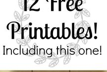 Printables / Great printables for download.