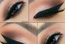 elegant makeup / by mickayla breann
