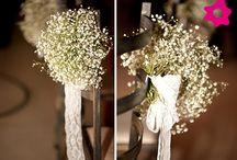 Paniculata / qué alegre y elegante es la decoración con paniculata.