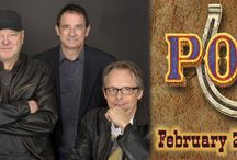 POCO / Poco keeps audiences captivated at each and every show with their combination of vocal harmonies, country licks, and rock and roll rhythms. Rusty Young who wrote and sang massive hits Crazy Love and Heart of the Night still leads Poco, one of the most prolific bands in rock history.