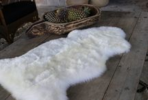 Sheepskin and Reindeer Rugs / Sheepskin Rugs make a delightful addition to your Autumn/Winter décor. Used on your favourite chair, the couch or at the foot of the bed.