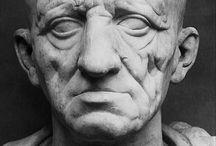 R&R tétralogie / Série portraits sculpture / patrimoine Rome ... Relation projet artistique  Remus. Et Romulus