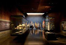 museología / centros culturales y deportivos / Atmósferas interiores para la exhibición de piezas artísticas culturales, convocatorias masivas y actividades recreativas, programa, forma, tectonica, iluminación, color,