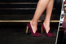 Moda w kolorze bordo / by Sarenza.pl