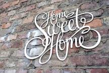 Home Sweet home / Deko