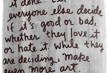 Lo que dicen del arte