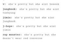 Random funny BTS stuffs