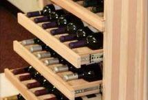 Arrumação vinhos