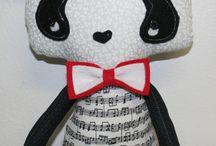 My handmade Dolls & Animals-Patterns by Dolls & Daydreams