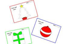 Christmas Motor Skills Fun Classroom Activities / Christmas Fine & Gross Motor skills activities & ideas for classrooms and home-school.