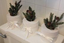 Christmas-Bathroom decor
