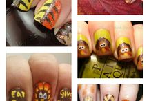 Nail Art / There are so many ways to make your nails look fantabulous - this is a small compilation of all the designs that would look great on anyone.