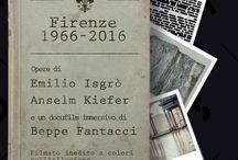 Alfabeti Sommersi / From 01/11/2016 to 13/11/2016 Exhibition in Palazzo Vecchio Museum, Florence. A 50-year long itinerary, from Florence to Florenc. An unreleased color movie and a contemporary art exhibition including Anselm Kiefer and Emilio Isgrò works A project by Marco Bazzini and Sergio Risaliti