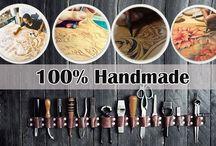 100% handmade purse / 100% handmade genuine leather purse