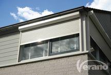 Rolluiken / Creëer een veilig, stevig en inbraakwerend pantser voor uw raam met een van de rolluiken uit de Verano® collectie!