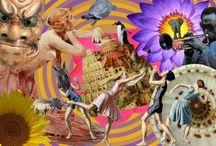 Digital Collages by Kathryn