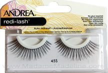 Andrea Redi-lash Self-Adhesive Lashes / Andrea Redi-Lash Self-Adhesive Lashes introduces three of our best selling lashes in the all-new Self Adhesive design. Redi-lashes combine fashion with function for a quick and convenient way to have the long, luscious lashes we all wish we were born with. These lashes also include an extra self-adhesive strip, and with proper care and cleaning, they can be used multiple times.