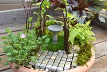 Miniature Landscaping  - Fairy Gardening / Fantasy landscapes on a smaller scale