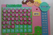 Calendarios de aula