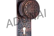 Door Knob with Plate