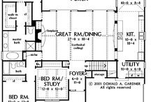 House Plans / by Jennifer Jenkins