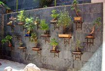 Стена бассейн