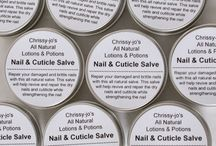 Chrissy-jo's All Natural Lotions& Potions / My all natural herbal products