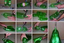 Kreatív ötletek PET palackból
