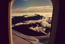 paisajes con aviones