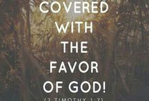 favour to the lord God