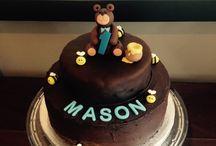 Teddy bears picnic / Masons 1st birthday