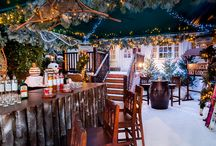 London Ski lodges / Enjoy festive cocktails, warming mulled drinks and act like you're on the slopes at these Ski Lodges and bars in London for Christmas time