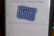 Sixth grade math / by Melissa Lara