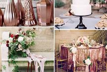 Rose Gold Wedding